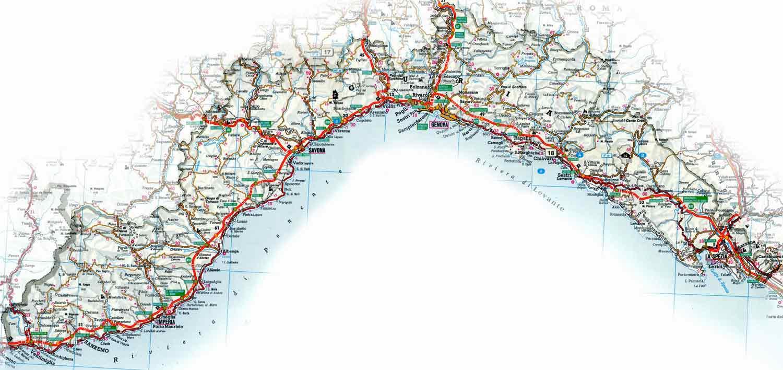 Cartina Regione Liguria.Italymap Italia Regioni Mappa Regione Liguria Italy Map